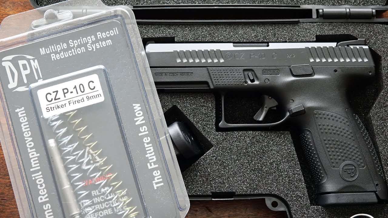 CZ P-10 C | DPM Systems Recoil Reduction System