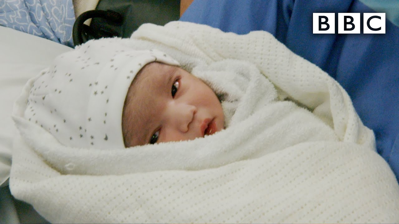 The incredible moment this baby was born safely during Covid - Panorama | BBC