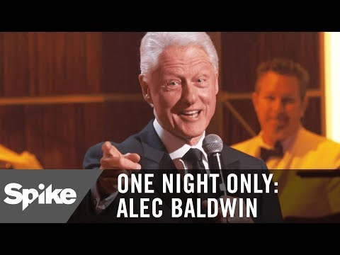 Former President Bill Clinton on Alec Running for Office | One Night Only: Alec Baldwin