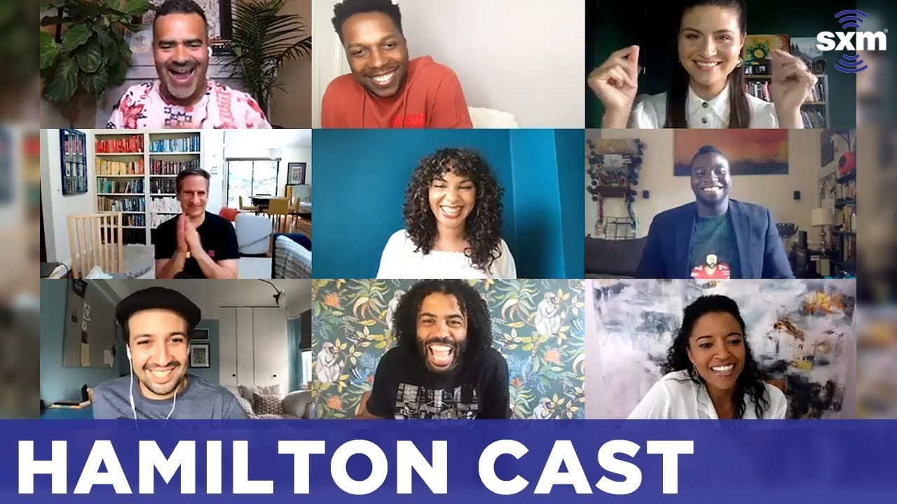 'Hamilton' Cast Reunion | FULL SiriusXM Town Hall