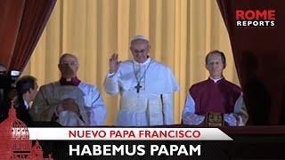 'Habemus Papam': el cardenal Bergoglio es el nuevo Papa Francisco   Rome Reports thumbnail