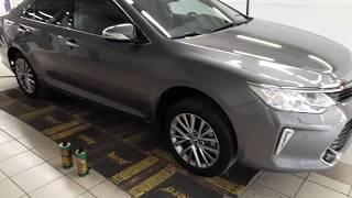 Жидкая шумоизоляция арок в Toyota Camry 2017 своими руками