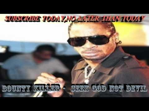 Bounty Killer - Seek God And Not Devil -(Throw Bac