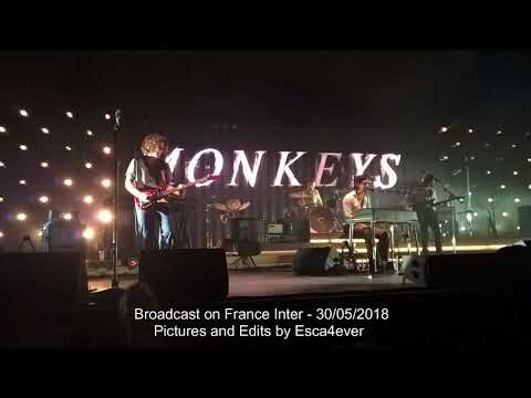 Arctic Monkeys - 60' Live In Paris 29/05/2018 - Soundboard From Radio