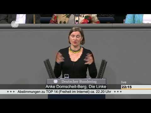 Anke Domscheit-Berg: AfD will Freiheit im Netz schützen, um ihre Hetze besser verbreiten zu können