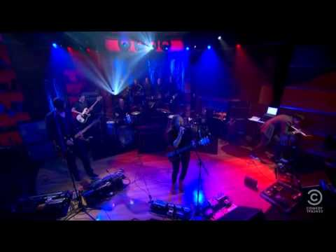 Radiohead - The National Anthem (Live on Colbert Report)