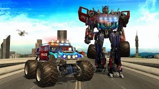 Police Monster Robot Superhero (By Marvellous Games Studio) Android Gameplay HD