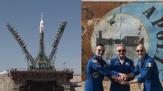 Soyuz MS-13 ready for launch