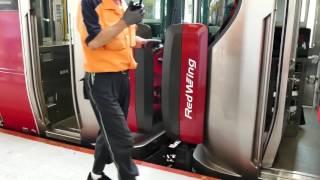 4K 山陽本線 岩国駅 6番のりば 切り離し作業 227系 1507Mの折り返し