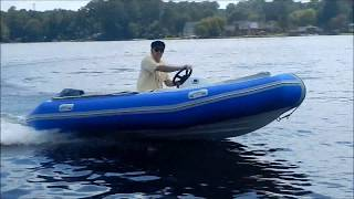 14 ft High Speed Rigid Hull Inflatable Boat by RibRave