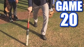 OLDEST ATHLETE EVER! | Offseason Softball League | Game 20
