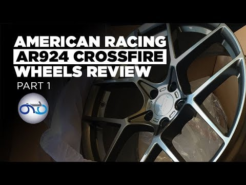 American Racing AR924 Crossfire Wheels Review First Impressions Part 1