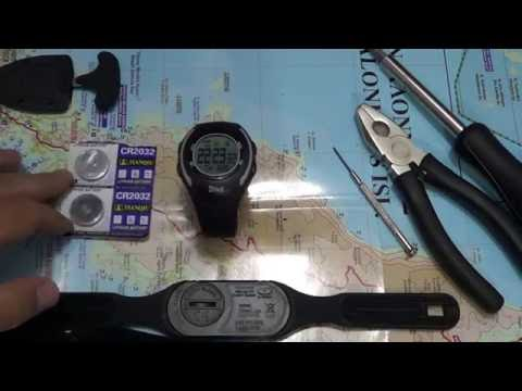 Crivit Watch/heart Rate Monitor From Lidl: Battery Change