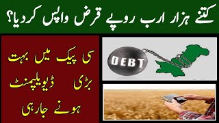 CPEC developments  - Projects - World Bank- Total external loan backed by pti government - Knowledge