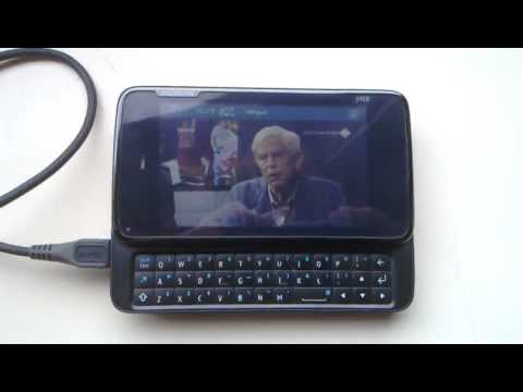 Watch live TV on a Nokia N900 using DVB-T USB adapter