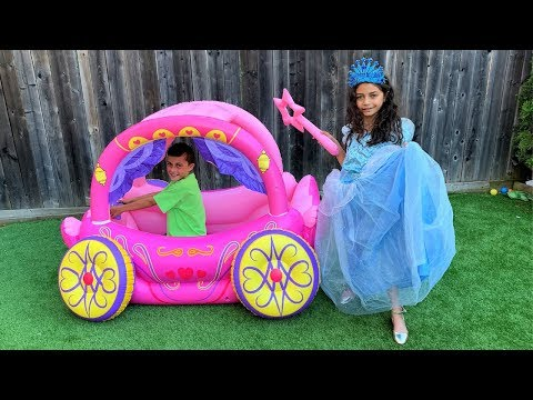 Heidi Dress Up for a Princesses Party