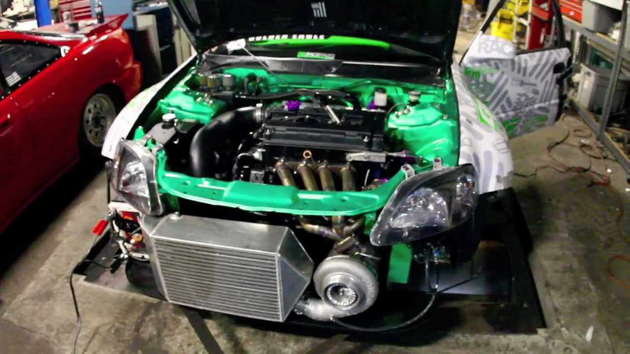Honda Civic Wiring Diagram 800 Hp Turbo Honda Civic Dyno Dynamic Performance X Esr