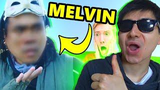 Melvin FACE REVEALED - NO BEARD! from Chad Wild Clay Vy Qwaint Spy Ninja New Video