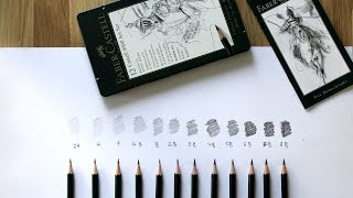 UNBOXING FABER-CASTELL 9000 ART SET | GRAPHITE PENCILS