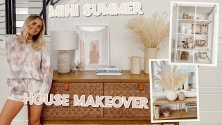 summer house makeover + healthy grocery haul!