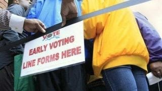 Early voting kicks off in swing state of Florida