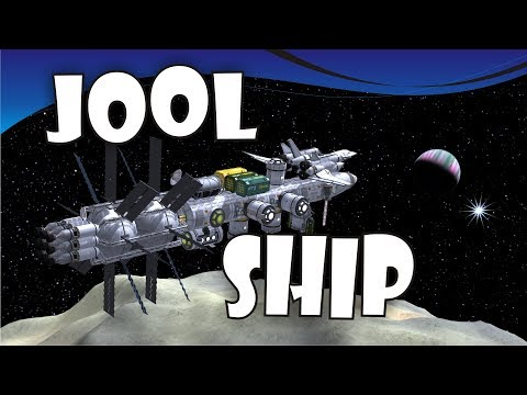 [24] SSTO Space Program - Pol Outpost and Jool Colony Ship - KSP 1.3