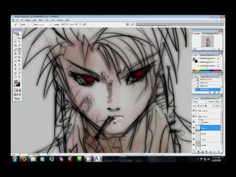 Drawing anime wacom tablet youtube