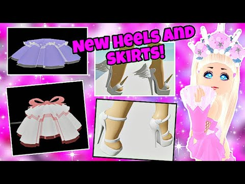REWORKED SKIRT, HEELS, NEW SET, SKIRT, HEELS AND MORE ON ROYALE HIGH! RH CONCEPTS! (Roblox)