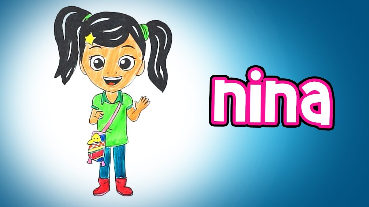 Disegni Da Colorare Armadio Di Chloe : Il mondo di nina splendido cartone animato italiano in questo