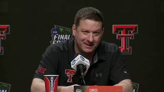 Texas Tech coach Chris Beard FULL Final Four press conference