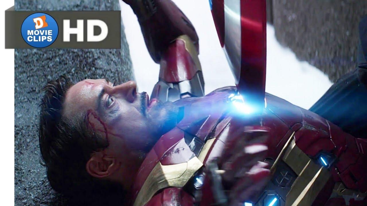 Download Captain America: Civil War Hindi (13/14) Iron Man Vs Captain America Scene MovieClips