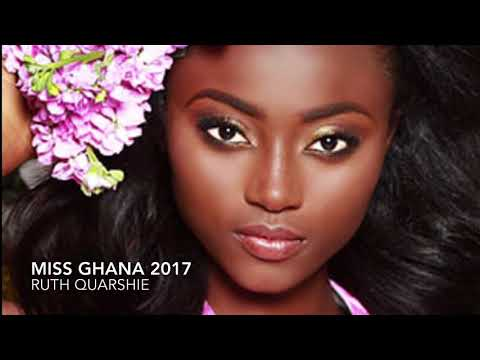 Miss Ghana 2017 at Miss Universe 2017 attending Best Buddies event