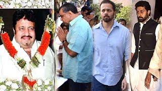 Bollywood Celebs Pay Respect To Hera Pheri Director Neeraj Vohra | Abhishek Bachchan, Paresh Rawal