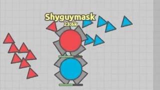 Diep.io - Corrupt X vs Shyguymask - 5 1v1 Battles