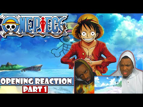 One Piece - Openings 1-5 [PART 1] [BLIND REACTION]