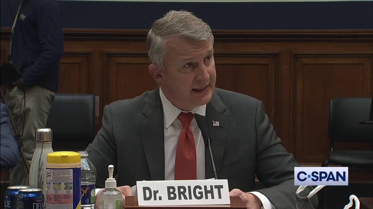Dr. Rick Bright Opening Statement