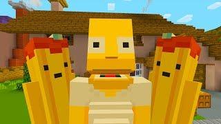HOMER SIMPSON IMAGINARY FRIEND | The Simpsons | Minecraft Xbox