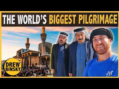 The World's BIGGEST Pilgrimage (Karbala, Iraq)