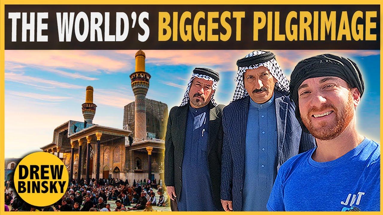 Download The World's BIGGEST Pilgrimage (Karbala, Iraq)