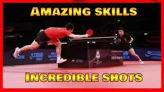 Best table tennis points of October 2019