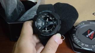 [HeoConStore] Unbox G-Shock GA-110-1B Replica with Auto Led