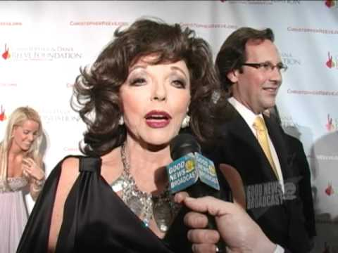 Joan Collins, Christopher & Dana Reeve Foundation Magical Evening Gala