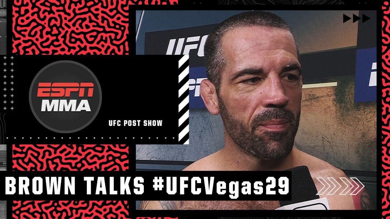 Matt Brown talks making history at #UFCVegas29 | UFC Post Show