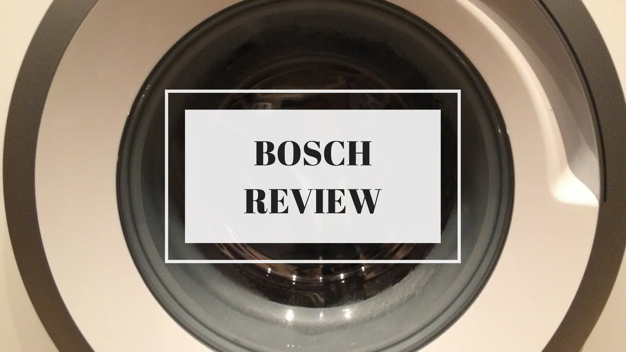 Bosch Serie 4 Vario Perfect Washing Machine Review