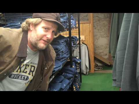 Jeff Daniels UP Tour Webisode 8  Modeling Carharts
