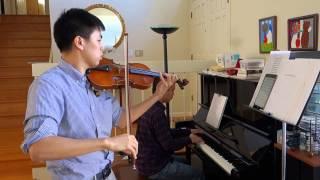 Gerudo Valley - The Legend of Zelda (Violin, piano)