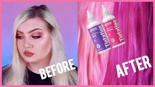 Testing Kiss Tintation hair dye