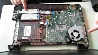 HP 250 G2 Teardown / Hard Drive / Memory Upgrade