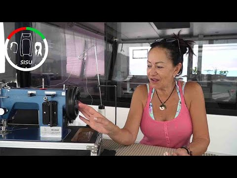 #42 Our Sailrite proves Weight Does Matter | Sailing Sisu Leopard 45 Catamaran Circumnavigating