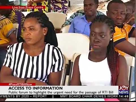 Access to information - The Pulse on JoyNews (28-9-17)